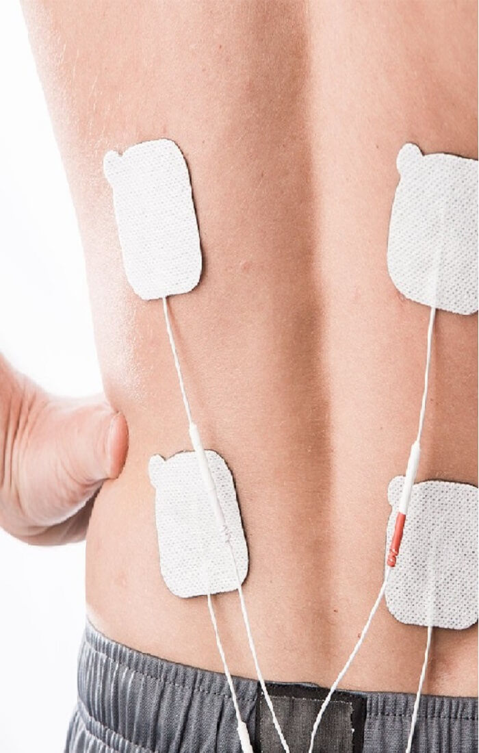 tens unit on back
